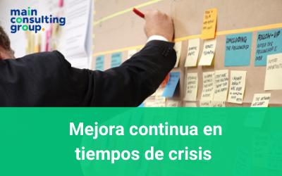 Mejora continua en tiempos de crisis